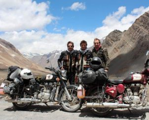 Delhi to Leh via Manali and Rothang and return via Kargil and Drass. 2000km trip of pure bliss.