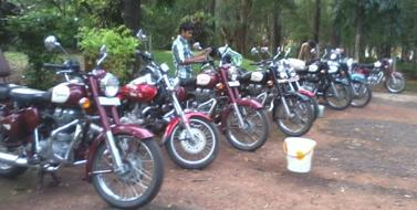 Ex-Mumbai to Goa and back with Konkan discovery. 1500kms.